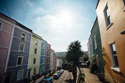 nestled in the heart of colourful Cliftonwood